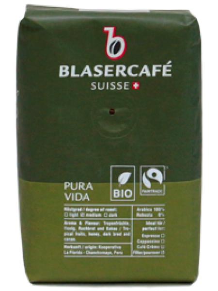 Кофе в зёрнах Blaser Pura Vida 250 г