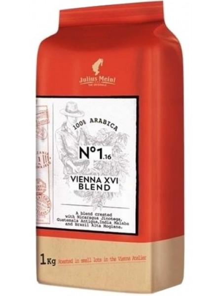 Кофе в зернах Julius Meinl THE ORIGINALS Vienna XVI Blend 1кг