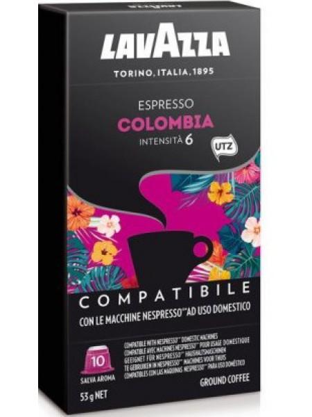 Кофе в капсулах Lavazza Nespresso Colombia 10 шт