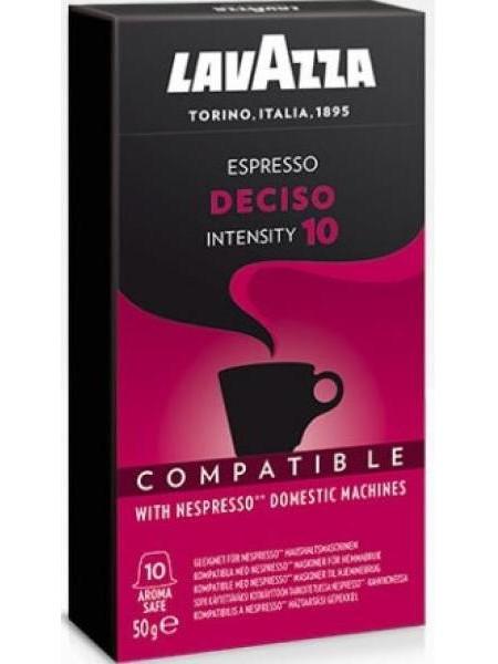 Кофе в капсулах Lavazza Nespresso Deciso 10 шт