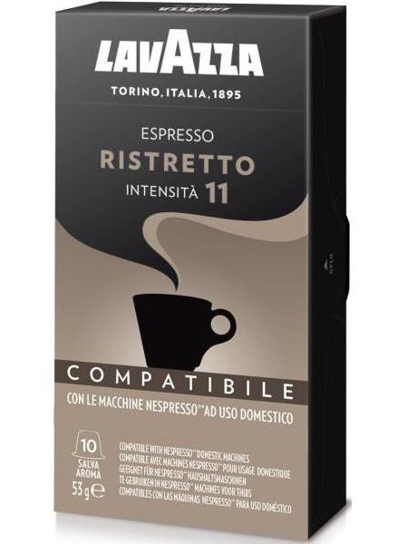 Кофе в капсулах Lavazza Nespresso Ristretto 10 шт